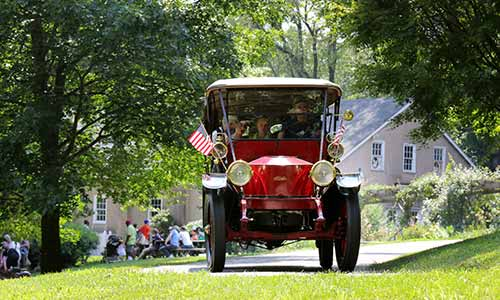 Steam car tour at Auburn Valley State Park