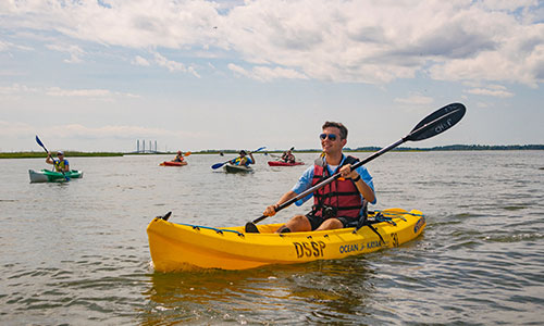 Delaware Seashore offers a variety of paddling opportunities