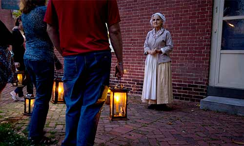Lantern Tour at First State Heritage State Park