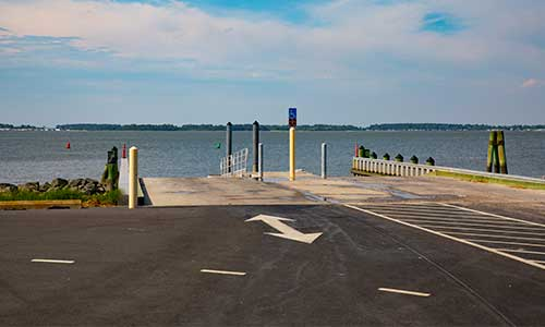 Boat Ramp at Holts Landing State Park