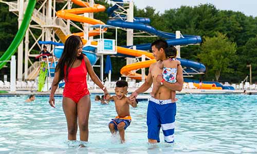 The Killens Pond Waterpark is a popular Kent County destination.