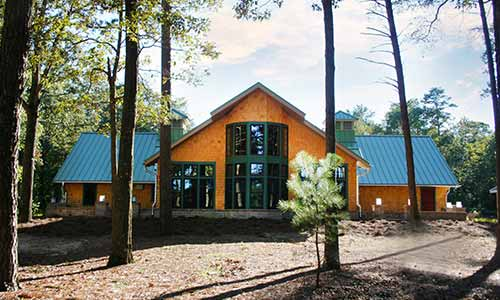 The Baldcypress Nature Center at Trap Pond State Park