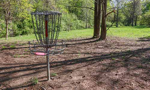 Disc golf is popular at White Clay Creek State Park