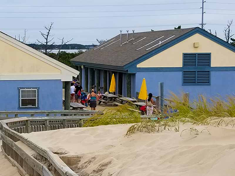 Fenwick Island bathhouse