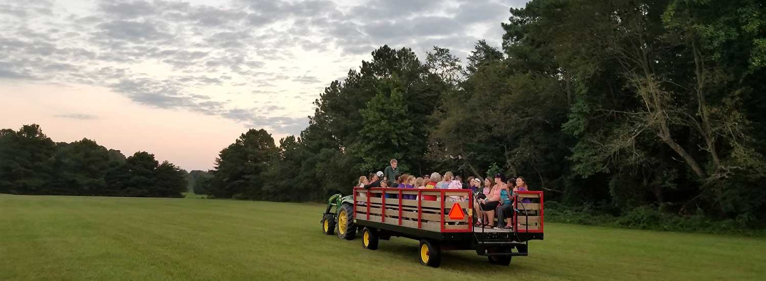 hayride at killens pond