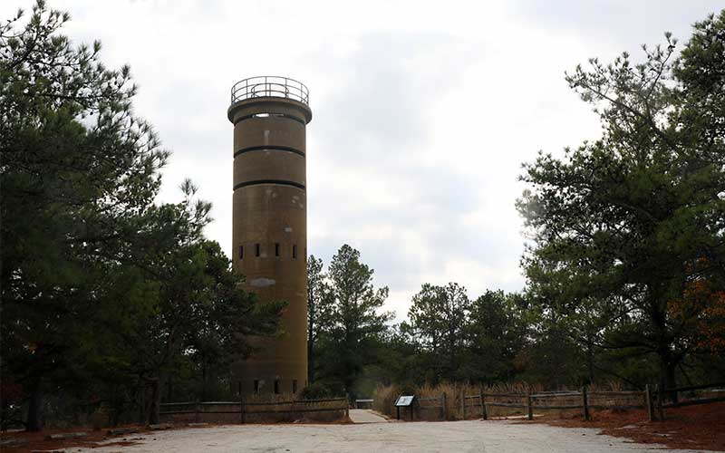 Observation Tower (Tower 7, across from Fort Miles Historical Area)